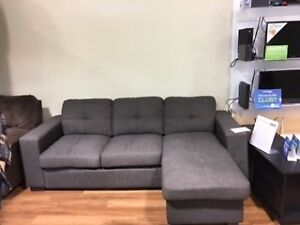Mazin Sofa with Chaise $375