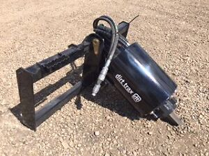 Auger Drive Attachment for Skid Steer/Bobcat