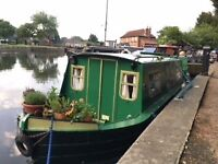 Original 1991 Springer waterbug 23 narrow boat - Recently restored to its former beauty