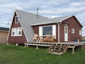 Oceanfront Cottage for sale on Brule Point