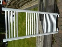 Attractive ladder radiator white suitable for bathroom or kitchen PRICED TO SELL