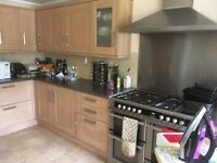 Used Kitchen Units with fitted fridge and dishwasher. You to dismantle and remove by 1st July