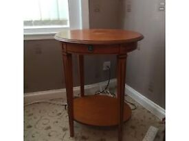 JOH LEWIS OVAL SHAPED TABLE