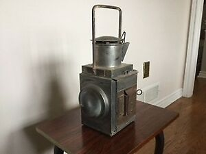 Antique / Vintage Railroad Kerosene Lantern