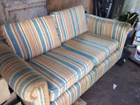 Comfortable 2 seater sofa bed £25 or near offer.