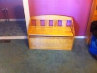 Single Bed with mattress or without and Toy Box