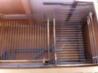 Magic corner storeage baskets