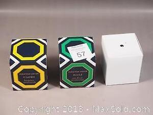 Three Scented Candles - Jonathan Adler Capri and Bali