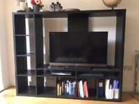 New IKEA Shelving Unit for sale £30 and TV Stand/Bookcase £60