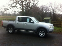 Ford Ranger 2.5 XLT 72,000 miles, new cambelt, new battery, 4 new tyres