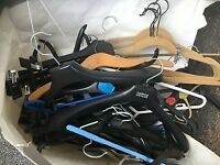 Coat hangers. Free - various types