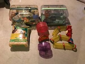 Hampster & Gerbal cages & accessories