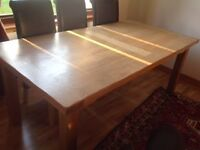 Ex Parade Solid Oak Dining Table, excellent condition