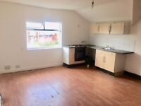 one bed top floor flat, close to shops, amenities, train stn & main routes, full double glazing L22