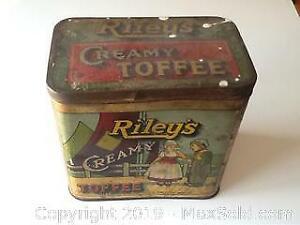 Antique Rileys Creamy Toffee Tin