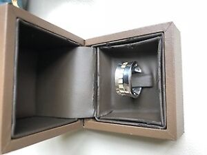 Women's ring, silver 925, Biker's Chic band, size 6, Birk's