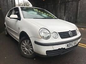 Volkswagen Polo 2002 1.2 Petrol White 3dr Breaking For Spares - wheel nut