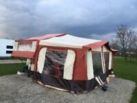 1996 Pennine Pullman 6 berth folding camper for sale due to upgrading to a caravan