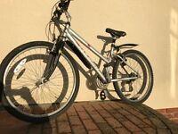 Girls/Ladies Mountain bike (with suspension)