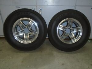 Trailer Tires on Aluminum Rims