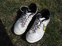 Astroturf football boots; Nike Magista, White, Size UK 3; Eu 35.5; VGC