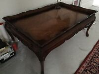 beautiful custom made italian style coffee table