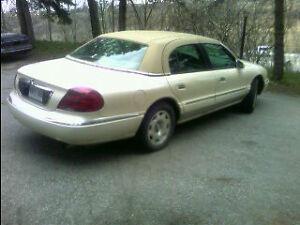 1998 Lincoln Continental deluxe Sedan