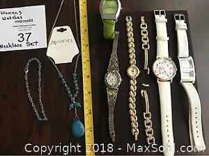 Women Watches, Avanti Necklace, Bracelets