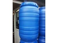 LARGE BLUE WATER BUTTS