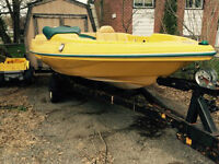 Project Boat for sale, Trailer included