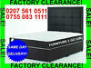 =BRAND NEW FACT0RY ST0CK CLEARANCE-SALE- DOUBLE BEDS £85 SINGLE BEDS £65 KING SIZE £129 + MATTRESSES Call--ó755-ó83-1111--same Day Free  Delivery---, London