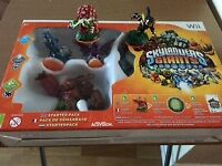 Skylanders Giants starter pack for Wii, + 2 additional figures