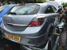 VAUXHALL ASTRA 1.6 PETROL 2006 3DR SILVER (P/C Z103) BREAKING FOR SPARES