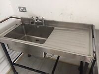 Single Commercial Sink