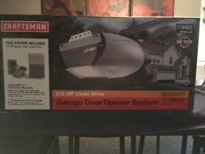 Garage Door Opener System - in box never opened
