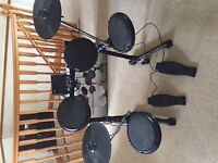 *ION Pro Session Premium Electronic Drum Kit with original packaging and stool