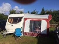 caravan awning dorema calypso size 10 (875 - 900cm)