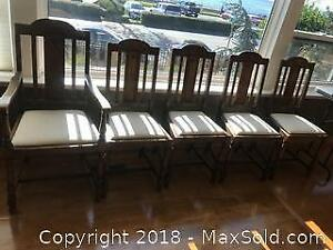 Antique Dining Chairs B