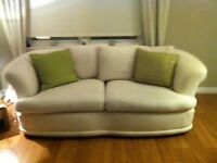 2 x 3 seater G Plan sofas