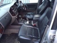 MITSIBISHI SHOGUN 3.5 GDI V6 2002 Spares or repairs good engine and gearbox good interior and body