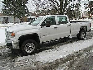 2018 Gmc Sierra 3500HD CREWCAB 4X4 DIESEL LONG BOX
