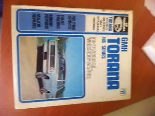 Torana HB Series and Brabham******1969 Workshop Manual - VGC Woodvale Joondalup Area Preview
