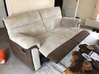 3 and 2 piece sofa - only two year old