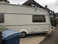 2 berth touring caravan