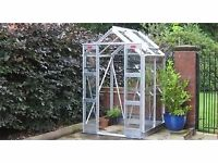 Small Green house - Nearly New Elite Compact 4 ft by 4ft