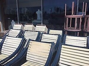 Aluminum & Rubber Patio Chairs & Tables!!!!!