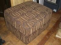 FOOTSTOOL / FOOT STOOL - LIFT TOP WITH STORAGE - CLACTON - CO15 6AJ