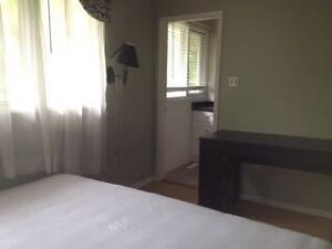 Room with private washroom