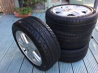 """Renault Clio Sport 15"""" alloy wheels and tyres"""