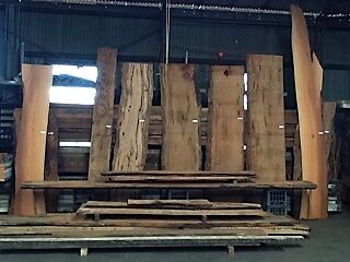 Timber Slabs ... Jarrah , She oak , Mari Oregon etc
